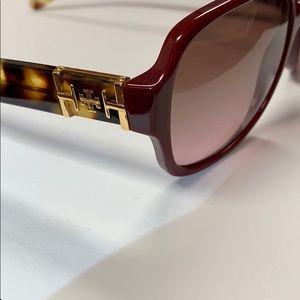 Tory Burch Accessories - Tory Burch Tortoise Sunglasses